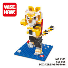 WISE HAWK Tigress  blocks ego legoe star wars duplo lepin toys playmobil castle starwars orbeez figure doll car brick