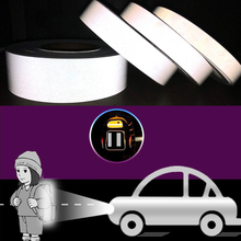 reflective easy to tear stickers night running security warning equipment