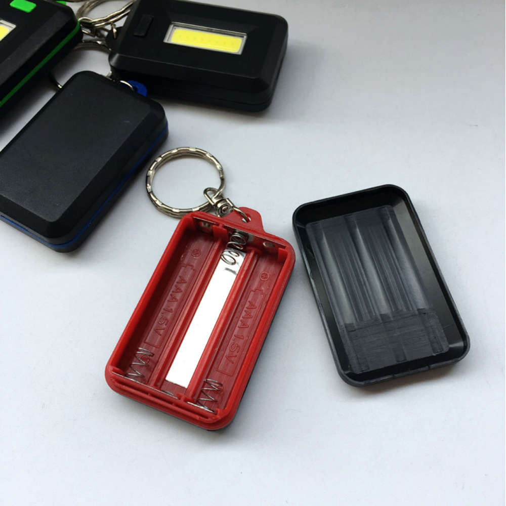 Image 4 - NEW Mini LED Flashlight Keychain Portable Keyring Light Torch Key Chain 45LM 3 Modes Emergency Camping Lamp backpack light-in LED Flashlights from Lights & Lighting