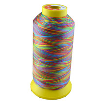 500D/3 high tenacity polyester sewing thread colors 4# embroidery ,Free shipping.