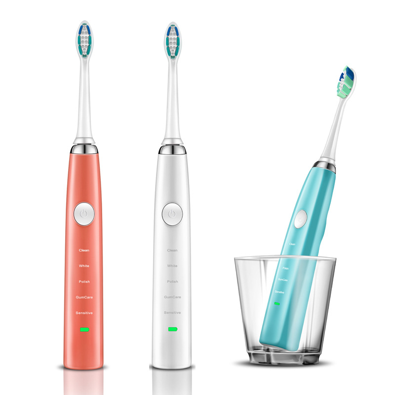 Adult font b electric b font font b toothbrush b font Automatic cleaning whitening Ultrasonic Charging