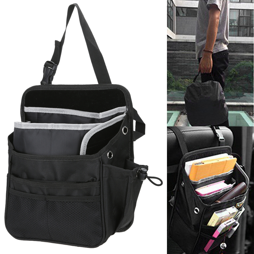 1 Pcs Back Bag Oxford Auto Car Chair Seat Organizer Bag Multi Pocket Arrangement Pouch High Quality Travel Kid Bag Holder
