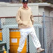 Justin Beiber Pullovern Für Männer Frauen 2016 Herbst NEUE Lange hülse 7 Plain High Street Mann Sweatshirt Lose Mode Hombre Pullover