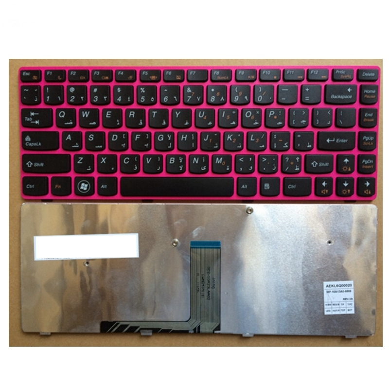 AR Laptop keyboard for LENOVO Z470 AM Z470AT Z470AX Z470K Z470G Z475 Z370 BLACK