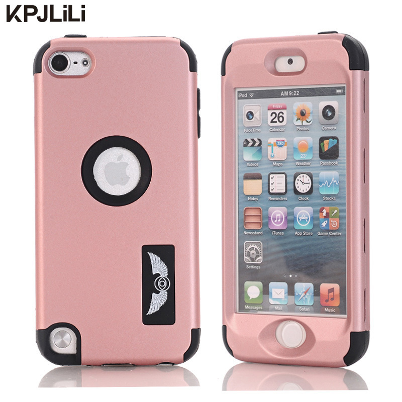 Kids Safe Silicone Case for iPod Touch 5 6 5th 6th Generation Luxury Shockproof Case Full Protective Hard Cover Hybrid Armor