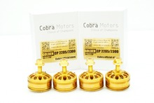 Golden Champion Cobra Motor CP2205-2300Kv,Free Shipping, 4pcs/Set Brushless Motor for Mini Drone Racing, FPV racing