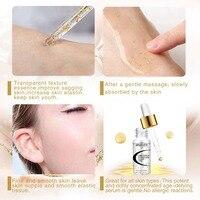 AMEIZII Гиалуроновая кислота К 24 К золото шесть пептидов сыворотка коллаген отбеливающее, омолаживающее воздействие уход за кожей лица крем Лифт укрепляющий эссенция
