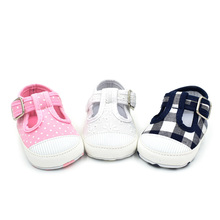 New Cotton Kids Sports Shoes Newborn Baby First Walking Soft Bottom Non-slip