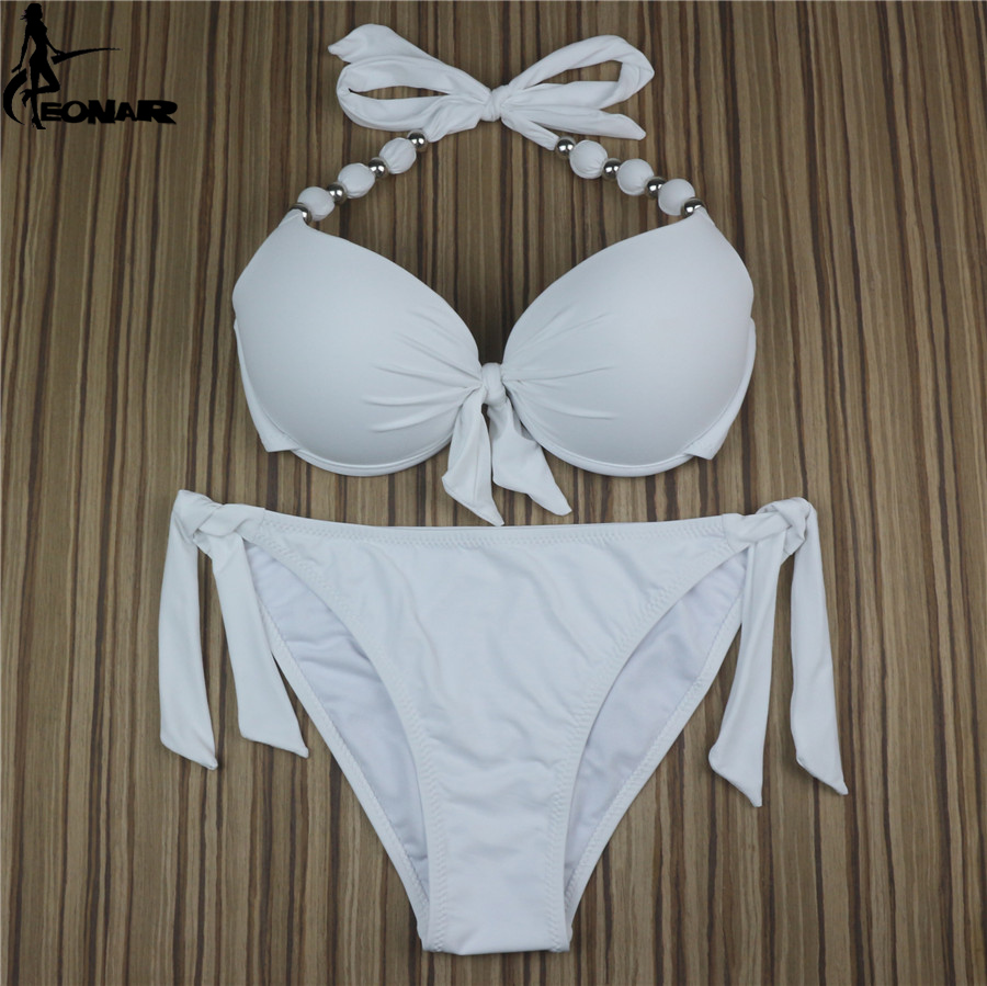 EONAR Bikini 19 Offer Combined Size Swimsuit Push Up Brazilian Bikini Set Bathing Suits Plus Size Swimwear Female XXL 18