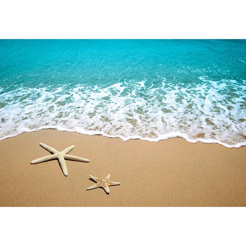 Mehofoto seaside Photo background Blue sea Beach Starfish wedding birthday pary photography backdrops fond studio photo αυτοκολλητα τοιχου καθρεπτησ