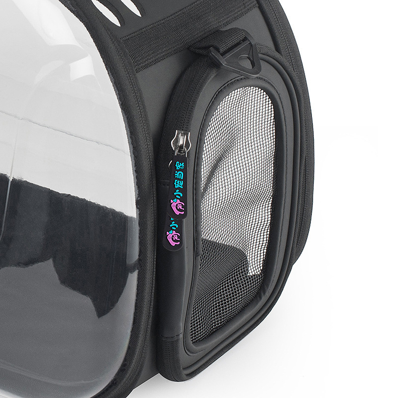 KIMHOME PET bolsas de perro portátiles para perros pequeños bolsa de mensajero portátil transparente para mascotas bolsa de transporte para perros medianos gato - 6