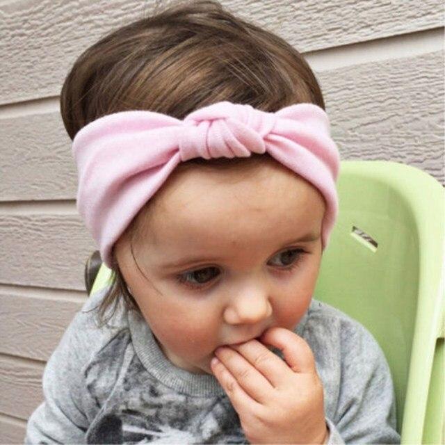 Kinder Mädchen Baby Kinder Häkeln Bow Nette Stirnband Haarband ...