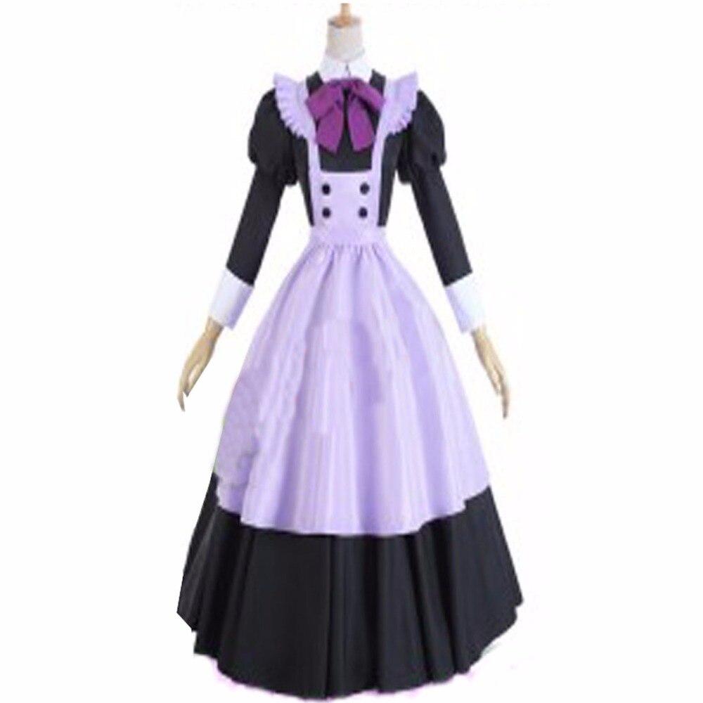 2018 Cardcaptor Sakura Tomoyo Daidouji Sakura Kinomoto Maid Uniform Cosplay Costume