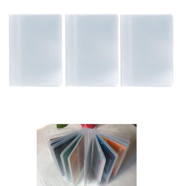 2017 fashion plastic pvc clear pouch id credit card holder 2017 fashion plastic pvc clear pouch id credit card holder organizer keeper pocket name business card colourmoves