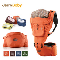 Jerrybaby Multifunctional Baby Hipseat Top Quality Sling Carrier Adjustable Breathable Baby Hip Seat Carrier Kids Kangaroo Seat