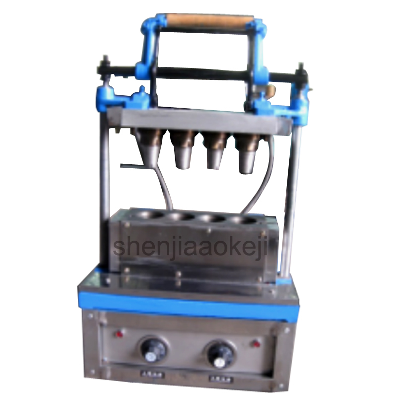 1PC Electric Ice Cream Cone Baking Machine Ice Cream Crisp Tube Machine DST-04  Ice Cream Cone Crispy Wafer Machine 220V