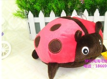 5 pieces small cute red ladybug plush toys lovely red ladybug doll gift toy about 20cm