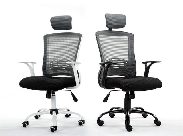 CONFORTO de alta qualidade escritório em casa cadeira do computador cadeira patrão cadeira de malha ergonómica levantamento rotativo