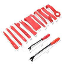 11pcs trim removal tool+6 inch screwdriver +8 inch screwdriver