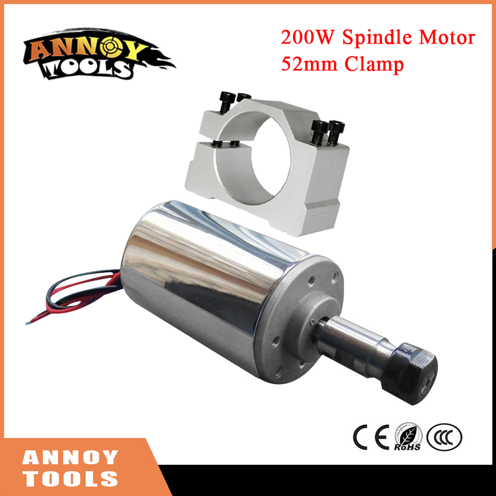 Free Shippin 200W DC Spindle,DC12-48V ER11,12000rpm, Engraving milling grind Diy cnc spindle motor air cooled PCB spindle motor chic quality pastotal village style green trees removeable wall stickers