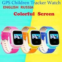 Çocuk Akıllı Saati GPS Saatler SOS Çağrı Konumu Bulucu Bulucu cihazı Tracker Kid Için Güvenli Anti Kayıp Monitör Bebek Noel F32