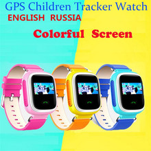 Kid GPS Smart Watch Wristwatch SOS Call Location Finder Locator Device Tracker For Kid Safe Anti Lost Monitor Baby Christmas F32