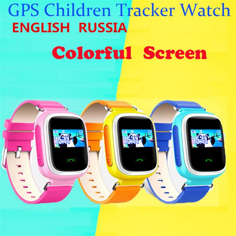 Kid GPS Smart Watch Wristwatch SOS Call Location Finder Locator Device Tracker For Kid Safe Anti Lost Monitor Baby Christmas F32 недорого