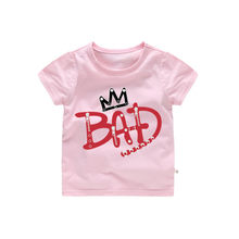 2-12T cartoon Michael Jackson bad boy T-Shirt Cotton clothes Summer T Shirt For Boys Tops Kids Children short sleeve Clothes(China)
