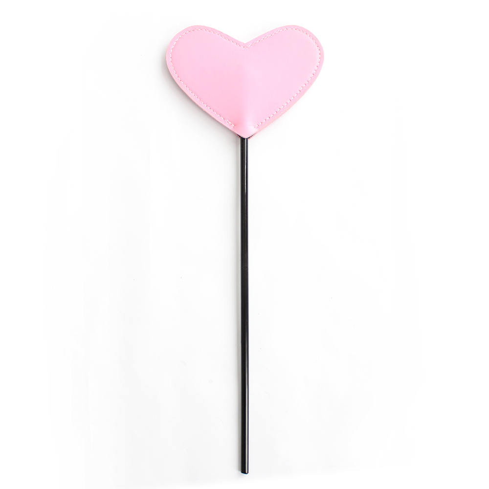 bdsm bondage Pink Heart Whip erotic sex Game Fetish Leather sex toys for couples slave punish Spanking Paddle pony play Flogger
