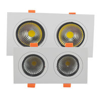 6pc LED COB Ceiling Down Light Not Dimming Dimmable 3W 5W 7W 9W 12W LED Downlight