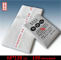 69*138 cm white Chinese painting paper,rice paper for Painting and Calligraphy,Xuan paper