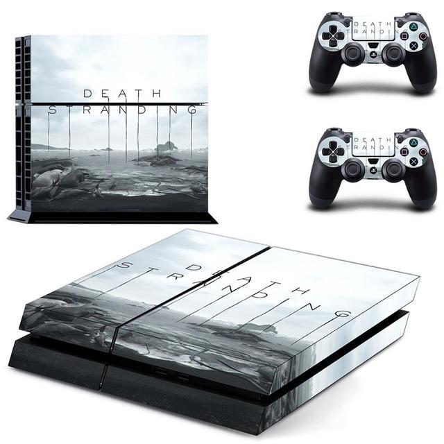 Mort toronnage PS4 autocollant de peau autocollant vinyle pour Sony Dualshock Playstation 4 Console et contrôleurs PS4 autocollant de peau