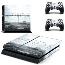الموت ستراندينغ PS4 الجلد ملصق مائي الفينيل لسوني Dualshock بلاي ستيشن 4 وحدة التحكم وأجهزة التحكم PS4 الجلد ملصق