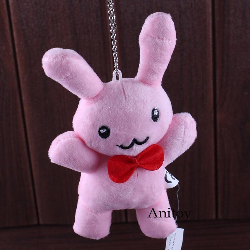 Ouran High School Host Club Mitsukuni Haninoduka Cute Rabbit Plush Toy Stuffed Animals Plush Keychain Toys 10pcs/lot