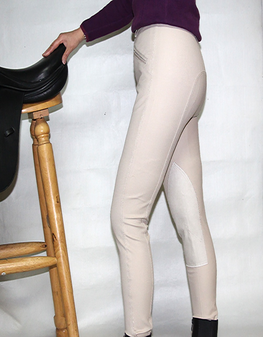 Aoud Horse Riding Pants Breeches Soft Breathable Equestrian Chaps Unisex Halters Saddle Paardensport Horse Riding Equipment