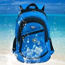 Freies verschiffen Hohe Qualität Große Schultaschen Jungen Mädchen Kinder Rucksäcke Grundschüler Rucksäcke Waterpfoof Schultasche Q0