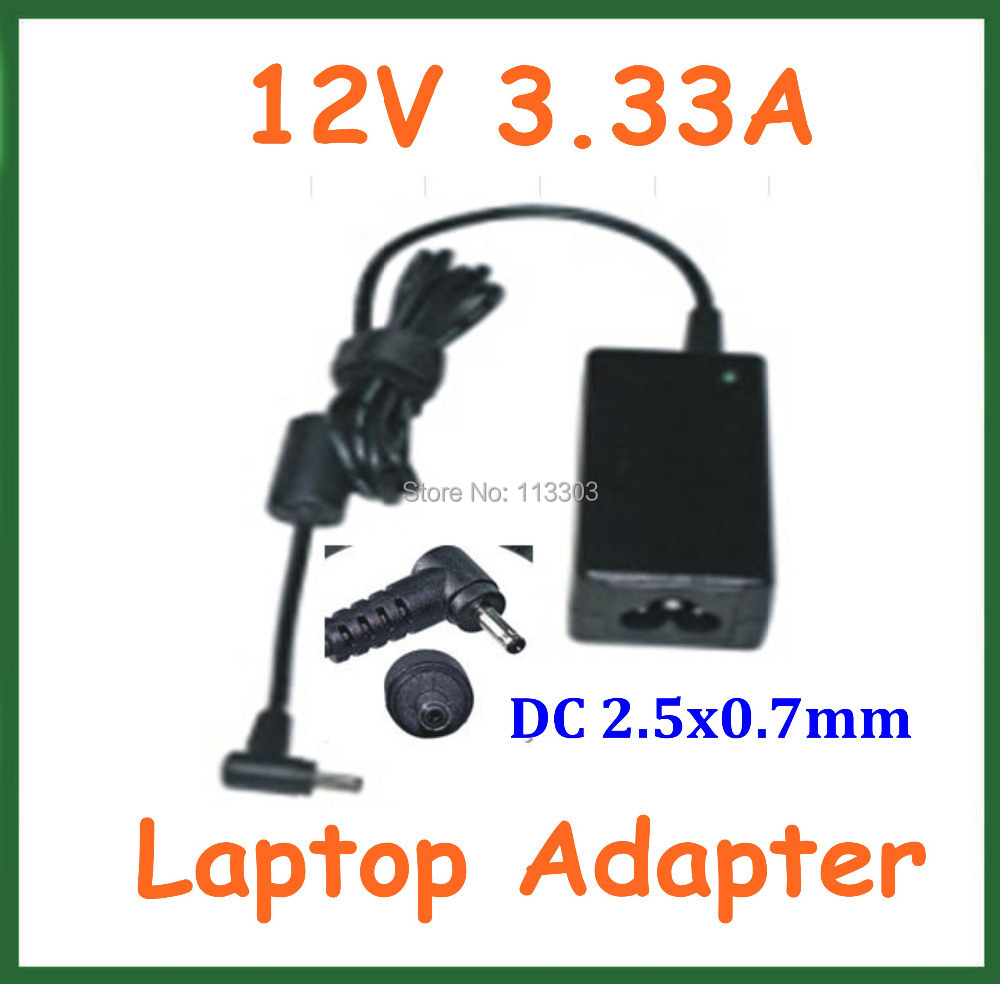 12V 3.33A 40W AC Adapter Battery Charger for Samsung XE303C12 Chromebook ATIV Smart PC XE500T1C XE700T1C Power Supply Adapter