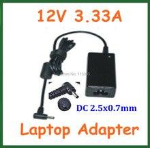 12 V 3.33A 40 Watt AC Adapter Ladegerät für Samsung XE303C12 Chromebook ATIV Smart PC XE500T1C XE700T1C Stromversorgung Adapter
