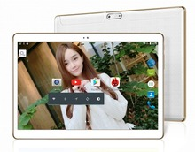 10 inch tablet pc Octa core 4GB RAM 64GB ROM 1280*800 5.0MP dual sim Android 5.1 Bluetooth IPS GPS tablets