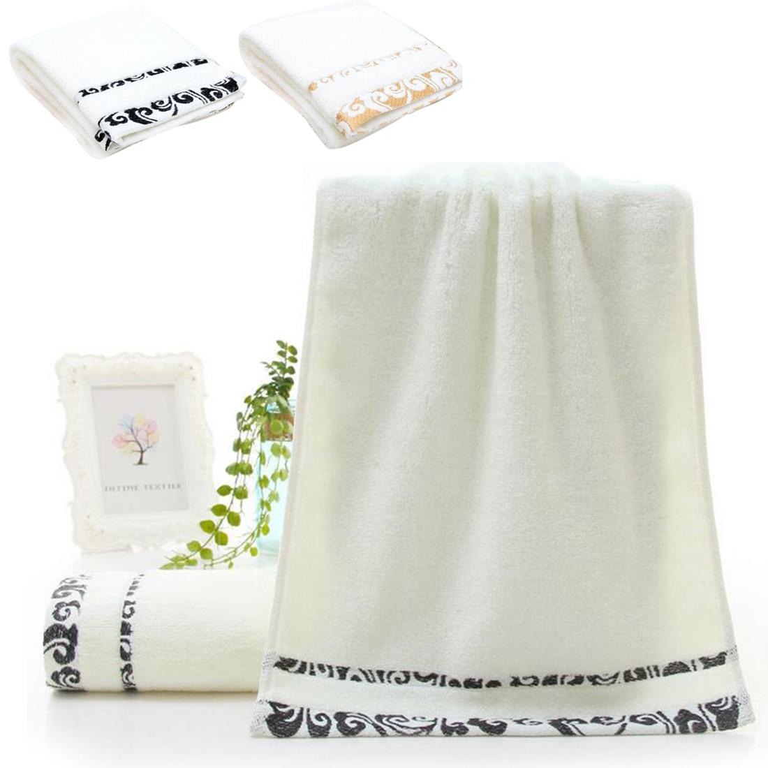 ricamo del cotone set di asciugamani viso asciugamani telo da bagno per adulti salviette di alta