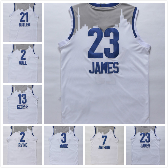 buy popular eaa02 129ff 2016 East All Star Jerseys LeBron James,Dwyane Wade,Carmelo ...