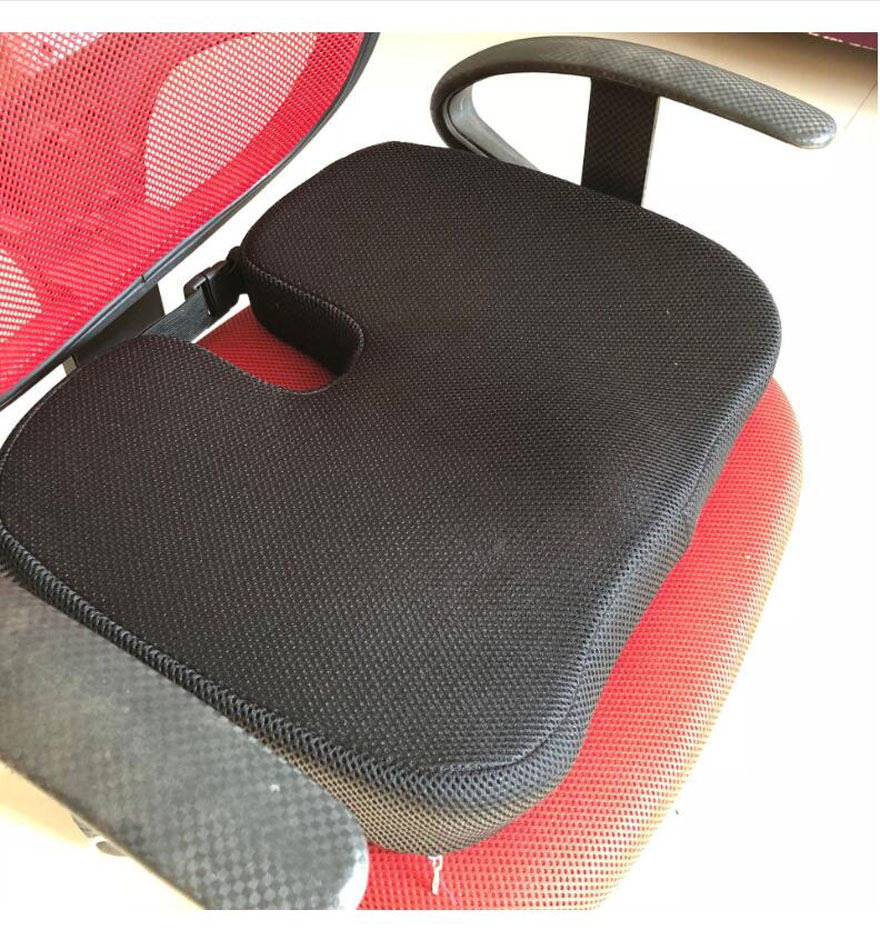 2019 HOT Sale Fashion Memory Foam Back Ache Pain Office Chair Car Orthopedic Seat Solution Cushion High Quality Free Shipping