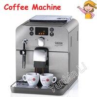 Автоматическая итальянская кофемашина 1.2L 220 В в бизнес/домашняя Кофеварка умная нержавеющая сталь итальянская кофемашина