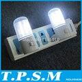 Apenas 3 W 2 pçs/lote 4 LEDs Wall Montagem Quarto Noite Luz Lâmpada Plug Iluminação AC Energy-efficient Luz romântico a Luz da Noite