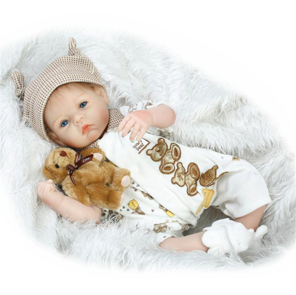 Newborn baby dolls Real 52cm silicone reborn baby boy dolls toys for children gift play house toy Bebes reborn bonecasNewborn baby dolls Real 52cm silicone reborn baby boy dolls toys for children gift play house toy Bebes reborn bonecas