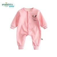 High Quality Baby Rompers Boys Girls Cartoon Panda Long Sleeve Jumpsuit Children S New Born Baby
