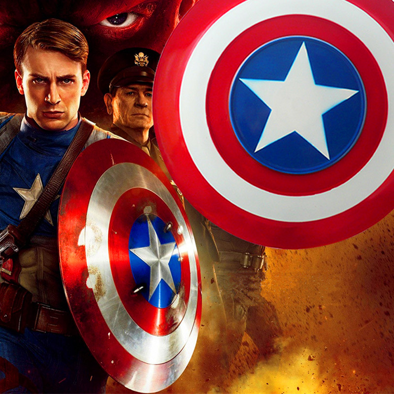 Metal colour The Avengers Civil War Captain America Shield 1:1 1/1 Cosplay Steve Rogers Metal model shield adult replica WU525 toward a social history of the american civil war