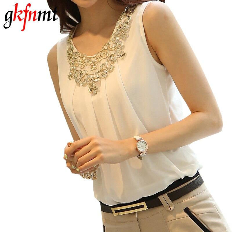 women clothes Blusas Vetement Femme Chemise Top Blusa De Renda Feminino Camisa Sleeveless Blouse Tops Ropa Mujer Plus Size 3XL