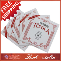 Pirastro Tonica Violin Strings Set Ball End Size 4/4 3/4 1/2 1/4 Made in Germany, Full Set 412021