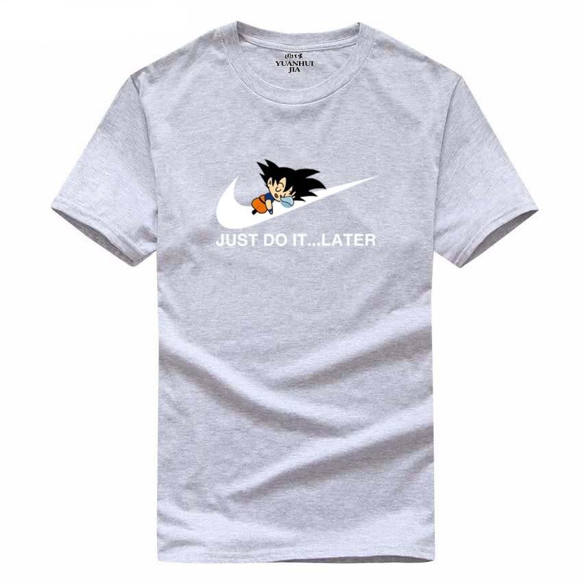 free shipping New 2017 Summer fashion Anime Dragonball T-Shirt Summer Novelty The Boy Skate Tshirt Tops Printed T Shirt Men